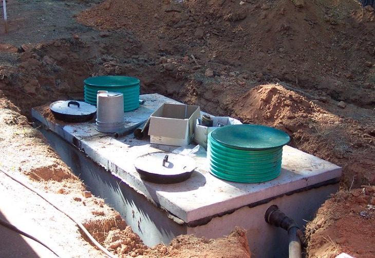 septic-tank installation of repair